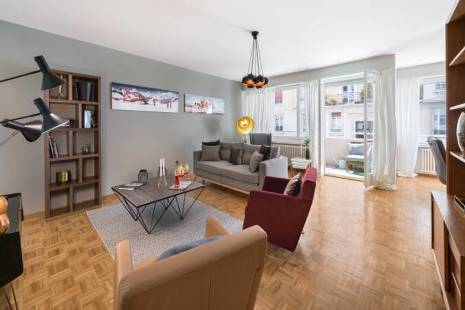 3 Bedroom Apartment Newly Furbished, Retro Style