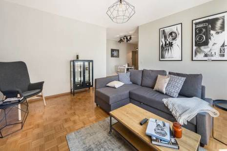 Lovely Furnished One Bedroom for Cinema Lovers