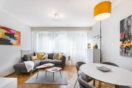 Stylish Furnished Apartment for a Flexible Period of Rental, in Geneva Center