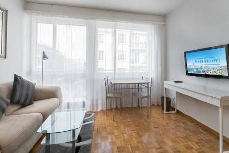 Bright Furnished Studio, close to the Hospital of Geneva